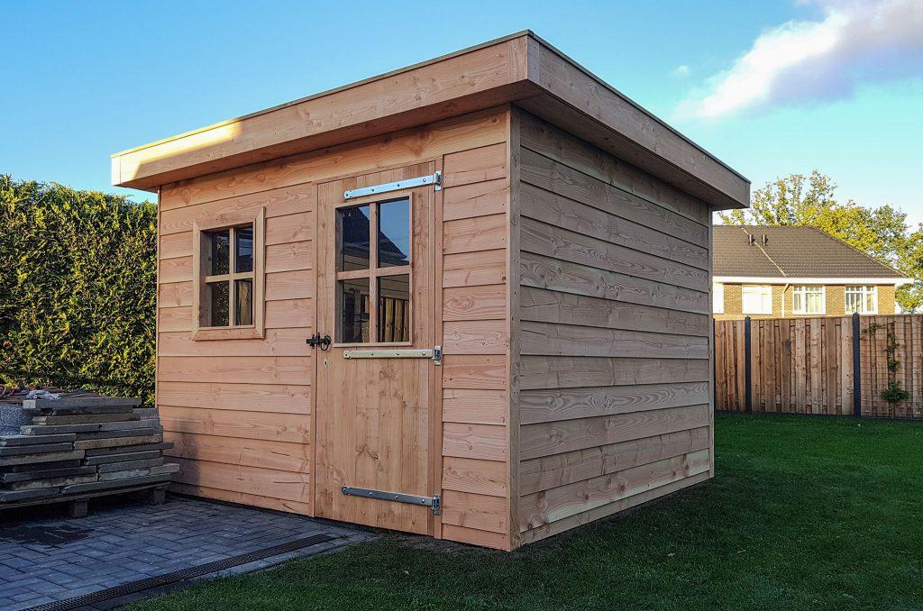 Blokhut gerealiseerd door Borkent Groen Totaal